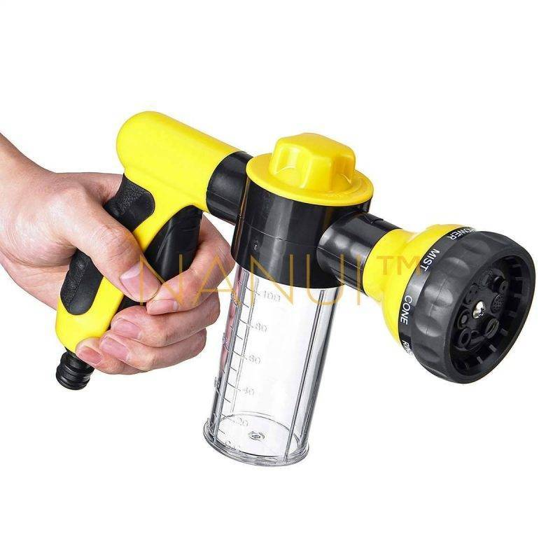Multi-Purpose Hose Sprayer Nozzle MINI Cleaning cb5feb1b7314637725a2e7: Black / Yellow