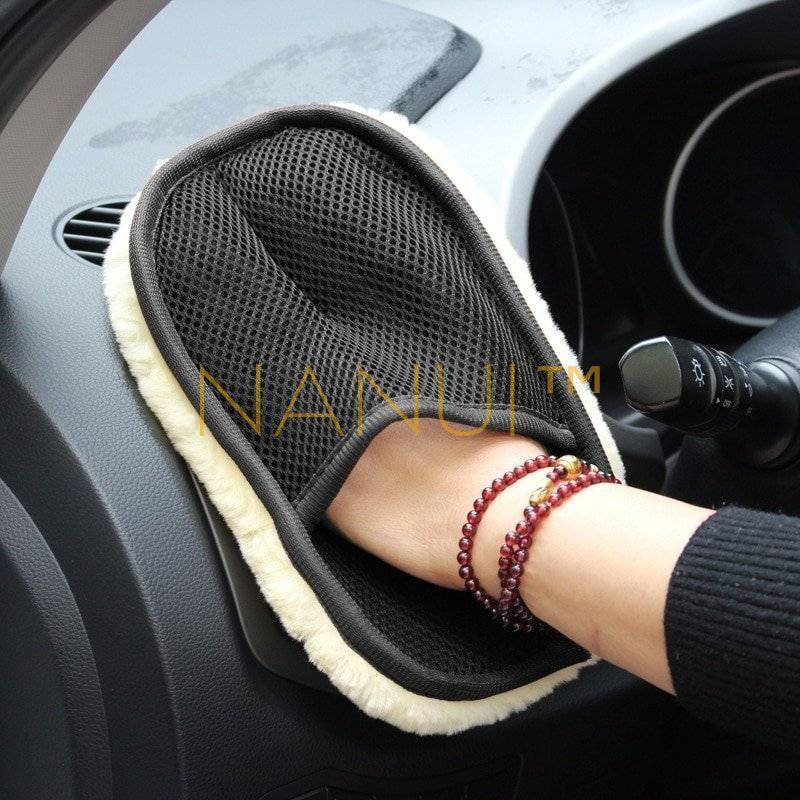 Plush Car-Washing Glove MINI Cleaning Brand Name: CARSUN
