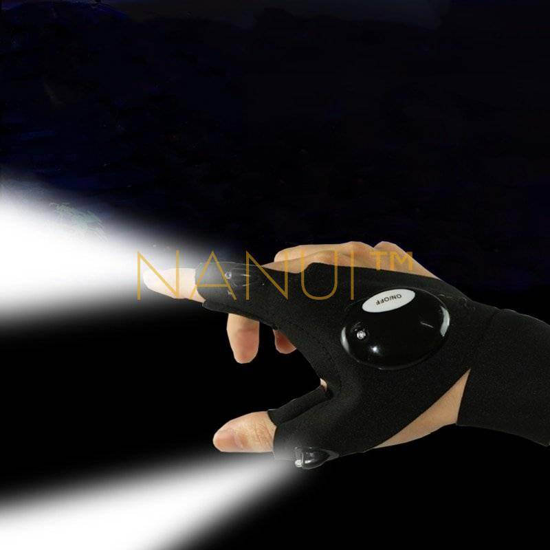 Waterproof LED Light Work Gloves Mini Others 01e49ee7364d951a3d1bde: Left Right
