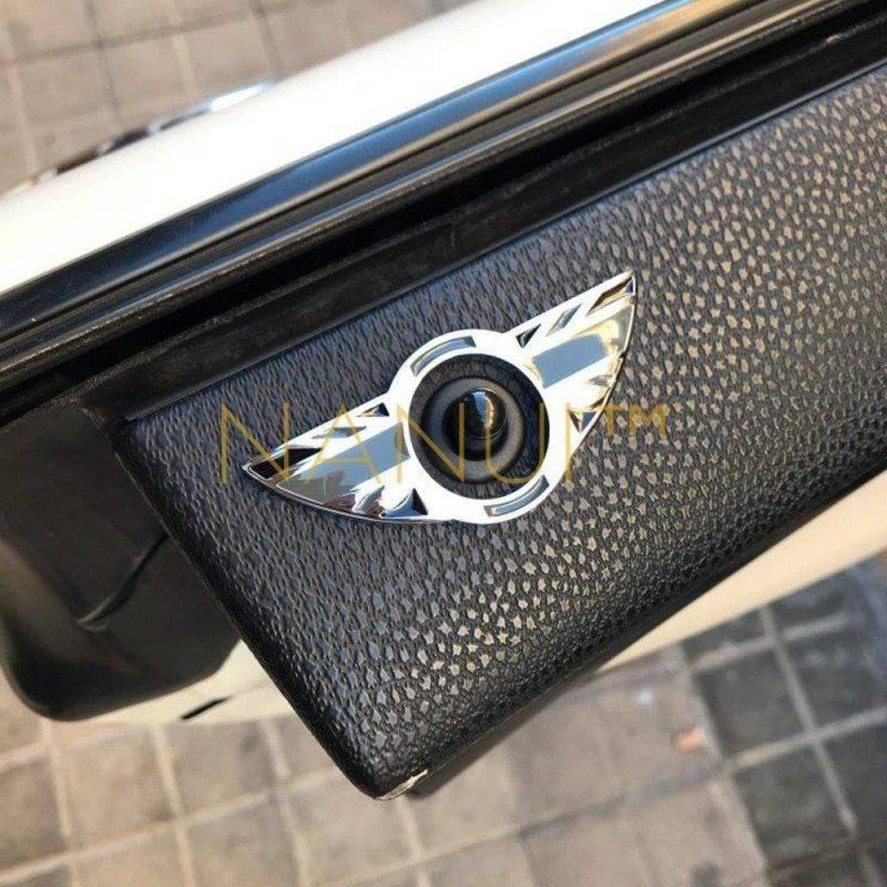 Car Interior Door Lock Stickers for MINI MINI Accessories MINI Decor 6ee592b94717cd7ccdf72f: 2 pcs Gray Union Jack|2 pcs Red Union Jack