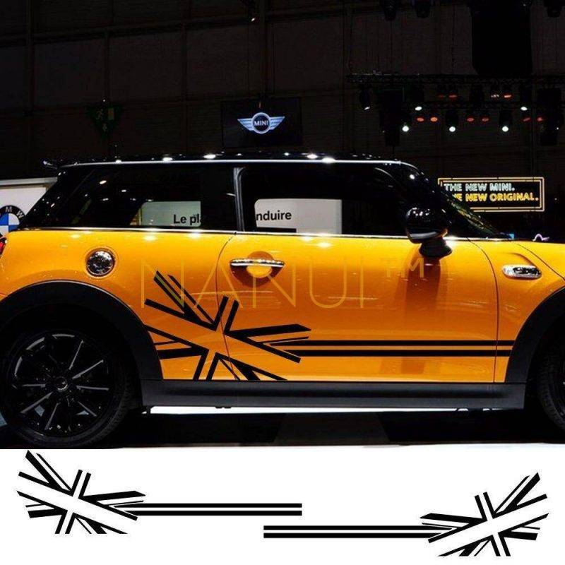 Car Side Decals for MINI Cooper Vinyl & Stickers 6ee592b94717cd7ccdf72f: Carbon Fiber|Colorful Laser|Glossy black|Glossy Blue|Glossy Gray|Glossy Orange|Glossy red|Glossy white|Glossy Yellow|Matt Black|Matt Gold|Matt Sliver