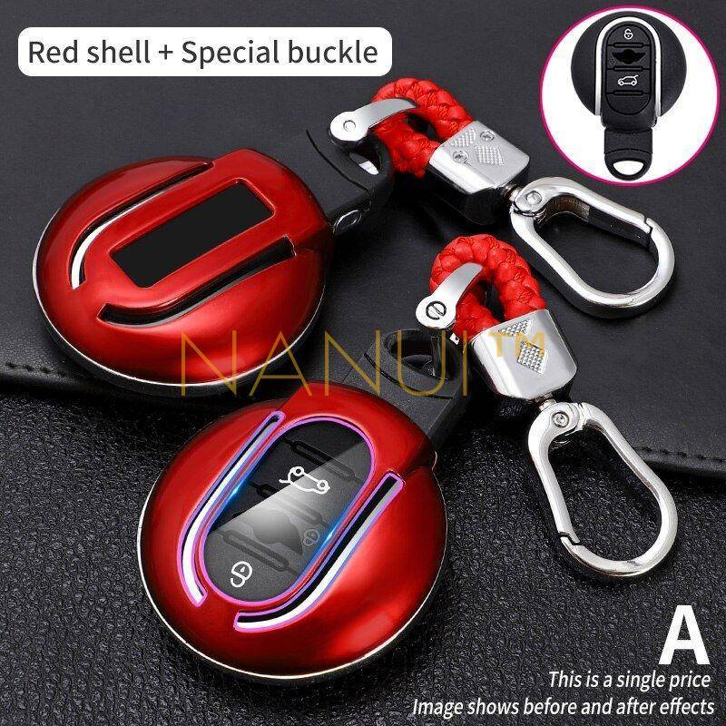 Car Key Case for Mini Cooper MINI Accessories 6ee592b94717cd7ccdf72f: Black|Black Shell|Carbon Black|Carbon Shell|Gold|Orange|Pink|Red|Red Shell|UK Shell|White|White Shell|Yellow