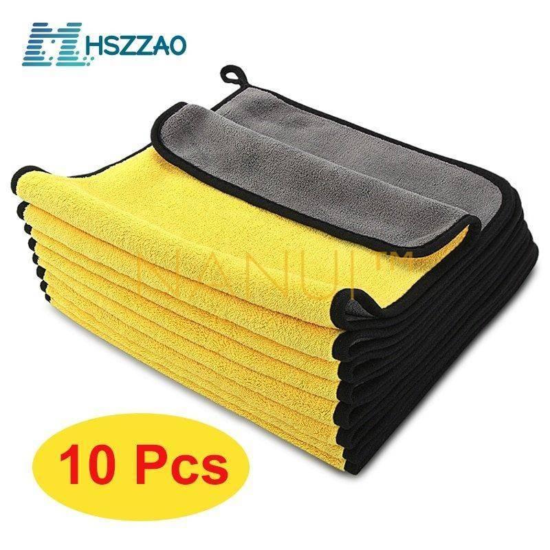 Microfibre drying and cleaning cloth for cars, non-scratching MINI Cleaning cb5feb1b7314637725a2e7: Black Blue Gold Green Orange Red Silver White Yellow